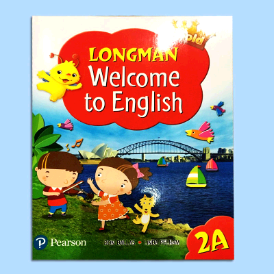 (原版进口)朗文小学英语Gold LONGMAN Welcome to English 2A