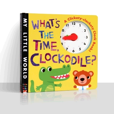 WHAT'S THE TIME,CLOCKODILE?